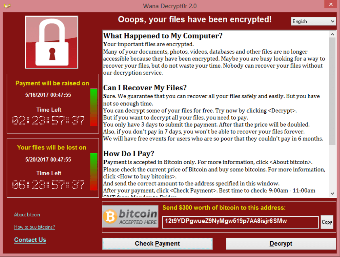 Evolve | Ooops, Your files have been encrypted