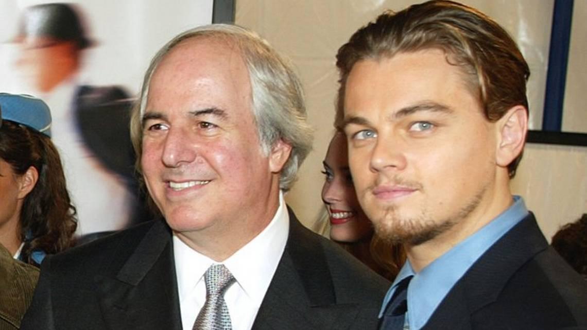 Frank Abagnale and Leonardo DiCaprio